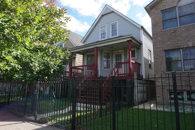 Chicago Single Family Home New: 3441 West School Street
