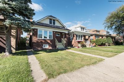 Chicago Single Family Home New: 2510 North McVicker Avenue