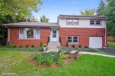 Wilmette Single Family Home For Sale: 616 Harvard Street
