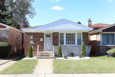 Chicago IL Single Family Home New: $199,500