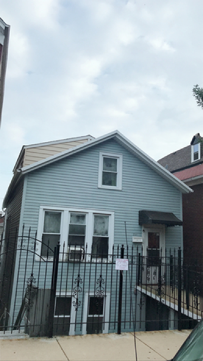 Chicago Single Family Home New: 2141 West 22nd Place