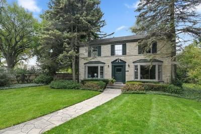 Wilmette Single Family Home For Sale: 901 Locust Road