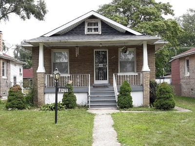 Chicago IL Single Family Home New: $135,000
