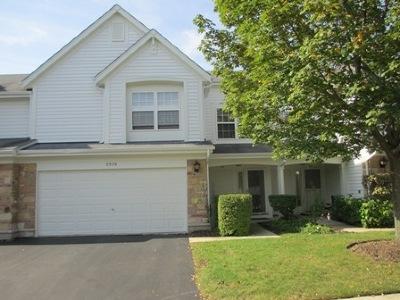 Schaumburg Condo/Townhouse For Sale: 2925 Oak Court