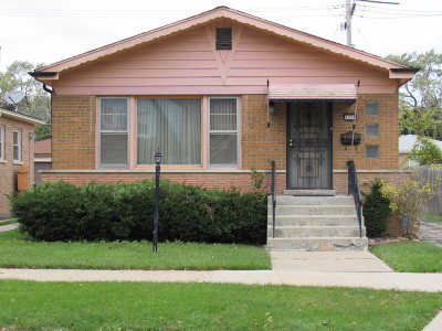 Chicago IL Single Family Home New: $160,000