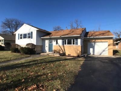Flossmoor Single Family Home For Sale: 2823 Sunset Avenue