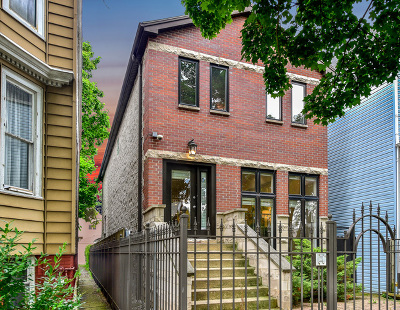 Single Family Home For Sale: 3409 North Troy Street