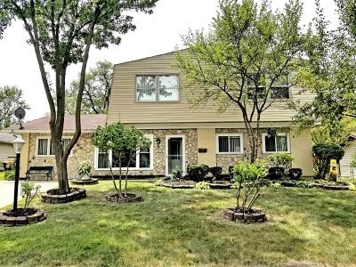 Hoffman Estates Single Family Home New: 1710 Highland Boulevard