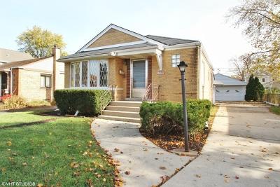 Niles Single Family Home Price Change: 7635 North Olcott Avenue