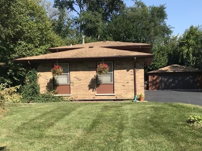 Palos Hills Single Family Home Price Change: 10101 South 81st Avenue