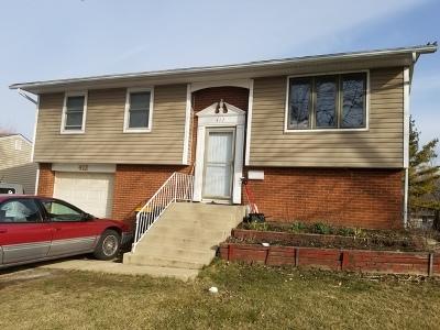 Streamwood Single Family Home New: 412 Arnold Avenue