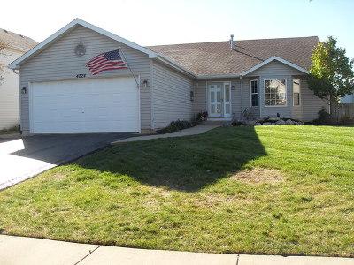 Plainfield Single Family Home New: 4224 Ashcott Lane