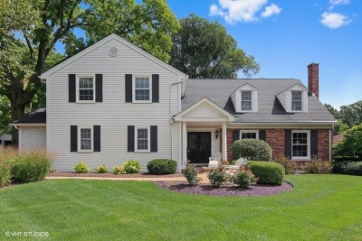 Western Springs Single Family Home For Sale: 5627 Lawn Drive