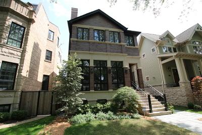 Single Family Home For Sale: 3837 North Hoyne Avenue