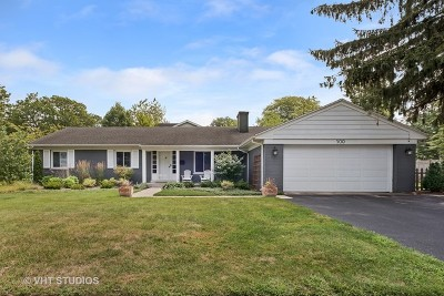 Wilmette Single Family Home For Sale: 500 West Meadow Drive West