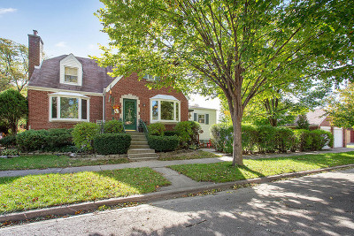 Evergreen Park Single Family Home For Sale: 9600 South Avers Avenue