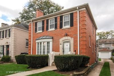 Oak Park Single Family Home Price Change: 843 North Marion Street