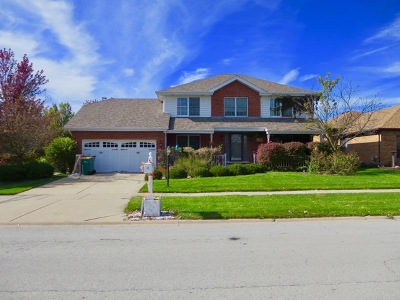 Orland Park Single Family Home For Sale: 16444 Paw Paw Avenue