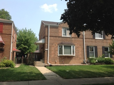 Melrose Park Condo/Townhouse Contingent: 1539 North 23rd Avenue