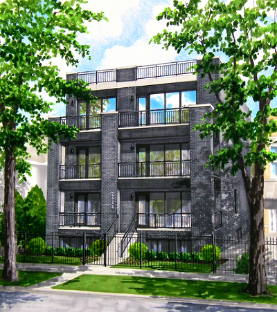 Condo/Townhouse For Sale: 2424 West Lyndale Street #1E