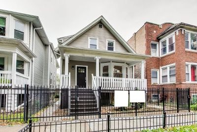 Single Family Home For Sale: 4437 North St Louis Avenue