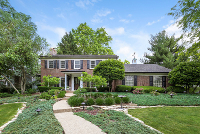 Downers Grove Single Family Home For Sale: 1300 Brookside Lane