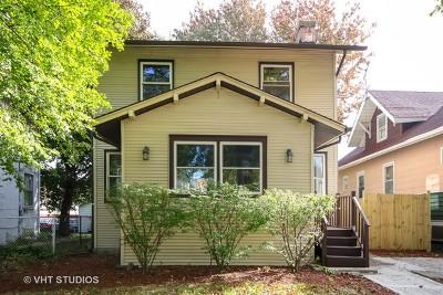 Berwyn Single Family Home Price Change: 3323 Ridgeland Avenue