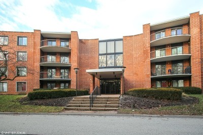 Arlington Heights Condo/Townhouse For Sale: 1615 East Central Road #417C