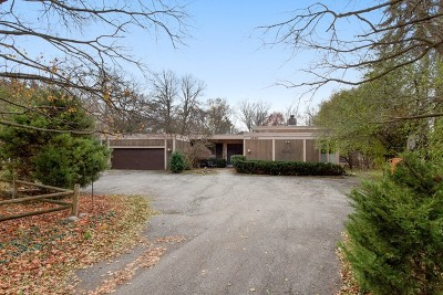 Winnetka Single Family Home Price Change: 1620 Tower Road