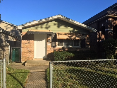 Chicago IL Single Family Home New: $159,900