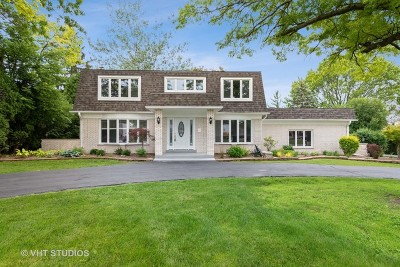 Oak Brook Single Family Home Price Change: 15 Devonshire Drive