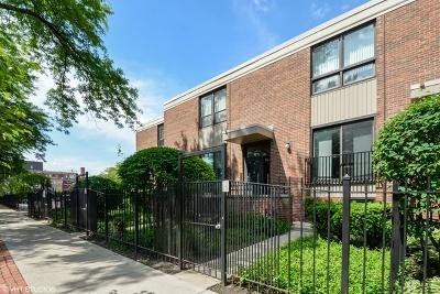 Condo/Townhouse For Sale: 832 South Laflin Street