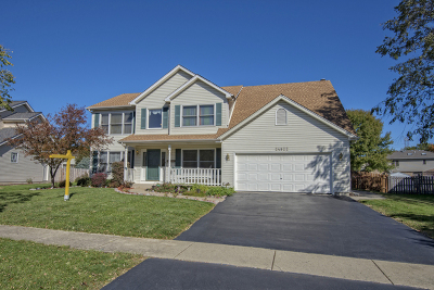 Plainfield Single Family Home For Sale: 24922 Ambrose Road