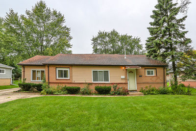 Hoffman Estates Single Family Home For Sale: 710 Alhambra Lane