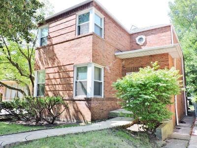 Chicago Single Family Home For Sale: 5922 North Christiana Avenue