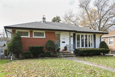 Lombard Single Family Home For Sale: 428 North Stewart Avenue