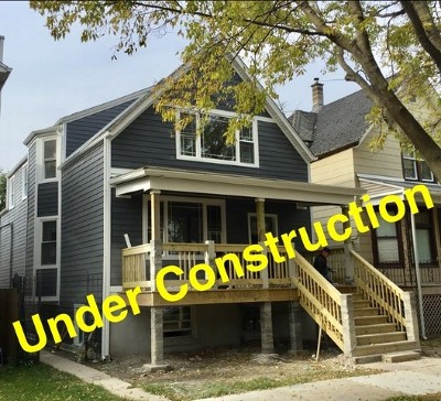 Chicago Single Family Home For Sale: 3738 North Francisco Avenue