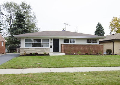 Mount Prospect Single Family Home Price Change: 605 North Wille Street