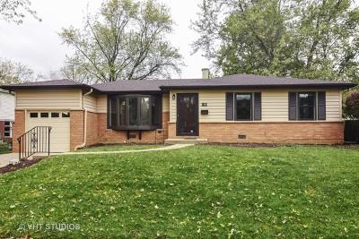 Palatine Single Family Home For Sale: 1304 East Joan Drive