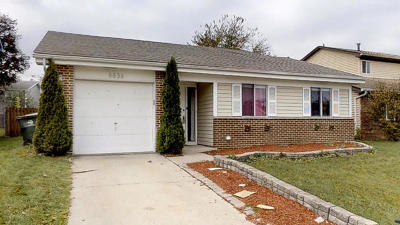 Woodridge Single Family Home For Sale: 6836 Red Wing Drive