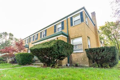 Oak Park Condo/Townhouse For Sale: 1439 North Harlem Avenue #A