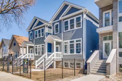 Chicago Single Family Home For Sale: 2731 North Maplewood Avenue