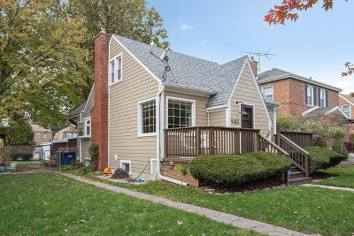 Evergreen Park Single Family Home Price Change: 9410 South Richmond Avenue