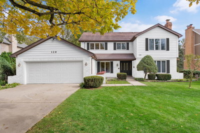 Hinsdale Single Family Home Price Change: 129 Springlake Avenue