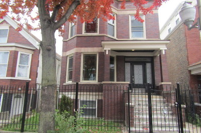 Multi Family Home Contingent: 2441 South Central Park Avenue