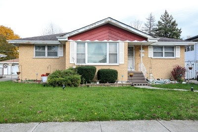 South Holland IL Single Family Home Contingent: $104,500