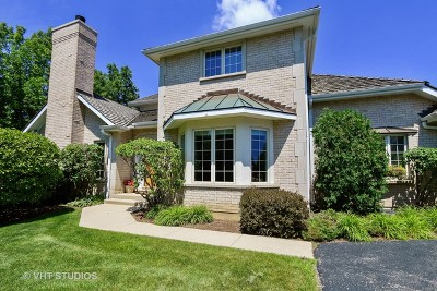 Lake Forest Condo/Townhouse For Sale: 1128 Pine Oaks Circle