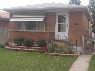 Avalon Trails Single Family Home For Sale: 12625 South Saginaw Avenue