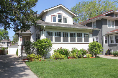 Oak Park Single Family Home For Sale: 627 Belleforte Avenue