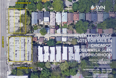 Chicago Residential Lots & Land For Sale: 6025 North Clark Street